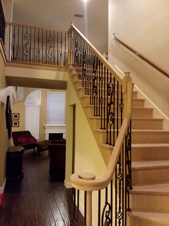 Styles Of Wrought Iron Stairs Spindles Change Wood