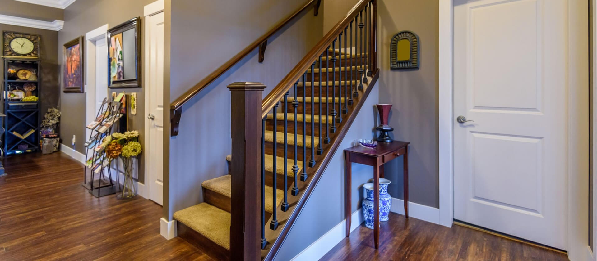 Wrought Iron Stair Baers Dallas Spindles Change Wood Stairs To